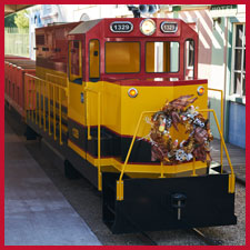 Train Ride - Sante Fe Engine